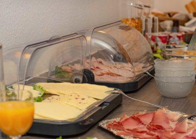 Hotel zur Prinzenbrücke - Frühstücksbuffet