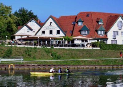 Hotel zur Prinzenbrücke - Ansicht vom Kanal