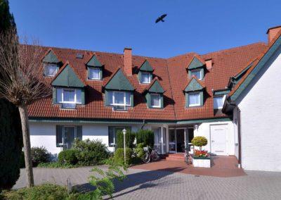 Hotel zur Prinzenbrücke - Eingang